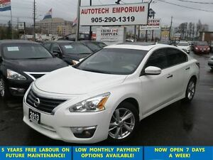 2013 Nissan Altima 2.5 SL Tech Pkg Prl White Navi/Leather/Blind