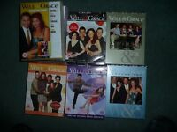 Will & Grace series 1,2,3,4,6,7