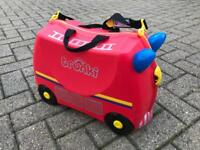 Fire Engine Trunki Child's Suitcase