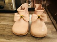 Genuine Vivienne Westwood / mini melissa girls boots size 10 toddler