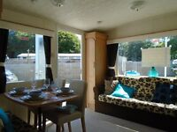 great value static caravan for sale pet friendly park open all year by the sea Devon nr Cornwall