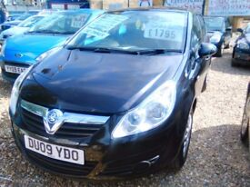 2009 Vauxhall corsa 1.2 petrol ideal first car full MOT service history one owner from new tidy car
