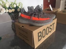 Adidas Yeezy 350 Boost V2 Beluga Grey Solar Authentic New