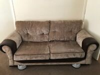 2 piece suite, almost new. Made up of one three seater and one two seater