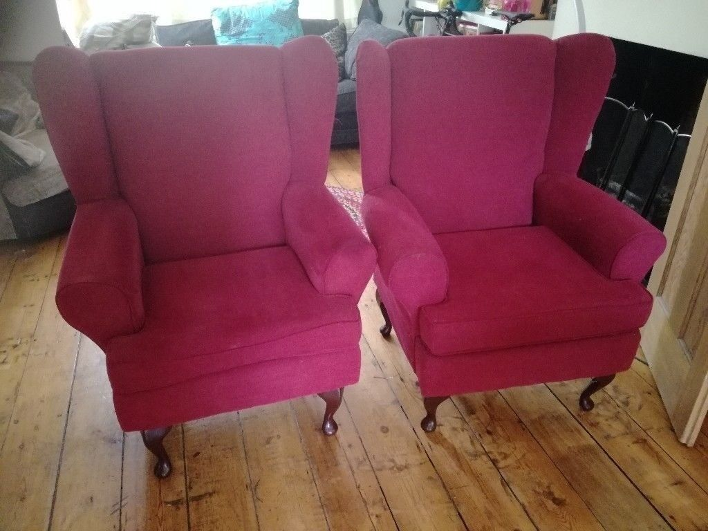 Two armchairs for sale | in Westbury Park, Bristol | Gumtree