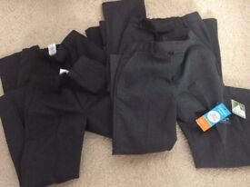 Boys school trousers age 6-7 two pairs brand new