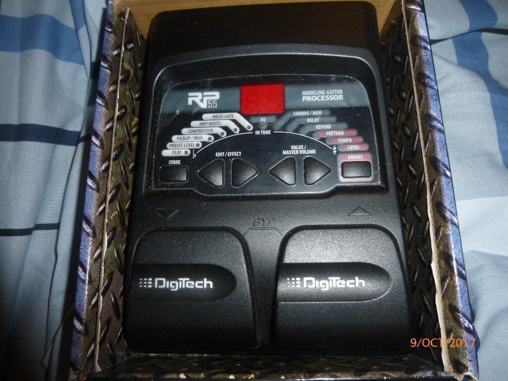 Digitech RP55 Modeling Guitar Processor Multi Effects FX Pedal
