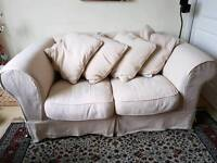 Good quality 2 seater sofa from sofa workshop