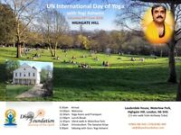 """The journey within..."" - International Day of Yoga with Guru Yogi Ashwini - Sat 23rd June 2018"