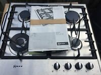 NEFF T22S46N0 Gas Hob - Stainless Steel BRAND NEW