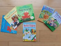 CHILDRENS PHONICS & FIRST READERS BOOK TOY BUNDLE ~ 6 BOOKS ~ ALL EXCELLENT ~ £7.50
