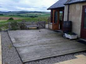 Two bed part furnished cottage