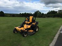 """CUB CADET COMMERCIAL 60"""" 27hp RIDE ON MOWER/TWO YEAR OLD,1150 HRS WITH MULCHING KIT."""