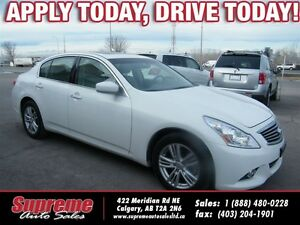2011 Infiniti G25X Luxury AWD NAVIGATION/B.CAMERA