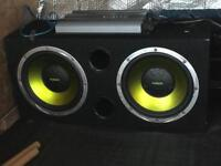 Twin sub with amp