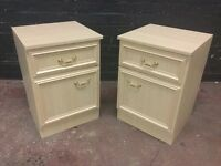 Beautiful pair of good quality bedside cabinets