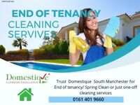 Professional Domestic Cleaners - End of Tenancy cleaning Experts - Fully insured