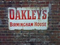 oakley's Birmingham House sign