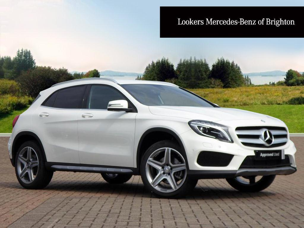 mercedes benz gla class gla 220 d 4matic amg line premium white 2016 07 18 in portslade. Black Bedroom Furniture Sets. Home Design Ideas