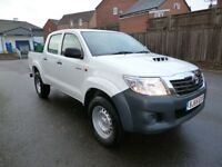 Toyota Hi Lux ACTIVE 4X4 D-4D DCB One Owner 12000 Miles FSH AA Breakdown Warranty