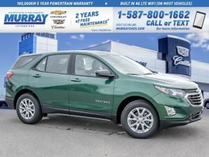 2019 Chevrolet Equinox **Rear Vision Camera!  Heated Front Seats