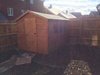 Garden shed - As new - lockable 10by7
