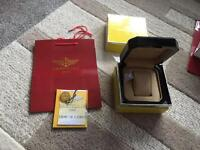 Breitling watch box and papers