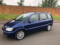 Vauxhall zafira auto 1 owner car 7 seats mot and service history