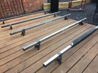 Mega Bars Transit Roof Bars Universal Traffic / Partner / Vito Etc- DELIVERY AVAILABLE