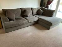 Next Chaise Settee, large Chair and Storage Footstool