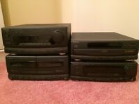 Technics Hifi - 4 separates & speakers