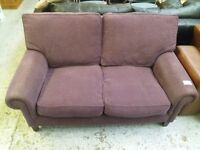 Two seater sofa (from Cambridge Re-use, a Charity Organisation)