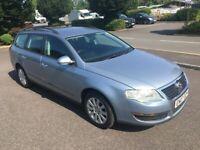 2007 07 Reg Volkswagen Passat 1.9 TDI S 105, Estate, Diesel, 5 Door, Metallic Blue