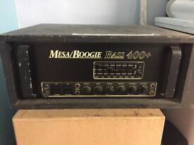 Mesa Boogie 400+ Bass Amplifier - New valves and just serviced!