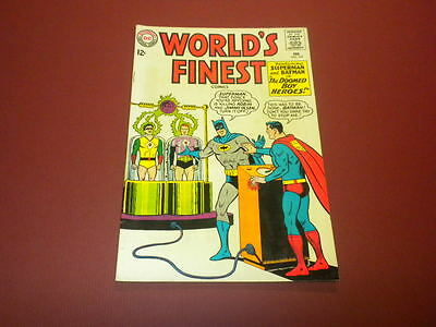 WORLD'S FINEST #147 DC Comics 1965 Superman and Batman