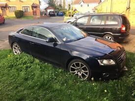 Audi A5 2litre TFSI 58 plate