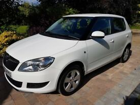Skoda Fabia 1.6CR TDi SE (105bhp) with cruise control, 1 owner from new, £20 annual road tax
