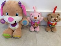 Fisher price play and learn bear