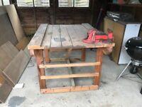 Work Bench (Bespoke - Hand Made by Excellent Craftsmen)