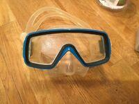 Cressi-Sub Scuba pro-tempered glass goggles