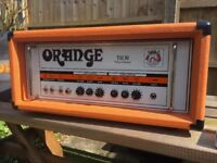 Orange TH30 valve guitar amp head cover and footswitch