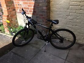 Mongoose switchback sport mountain bike, 2011, small, black, good condition