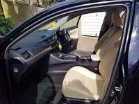 Lexus ct200h full service history