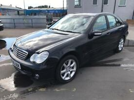 2005 MERCEDES-BENZ C180k SALOON AUTO 4dr # FULL SERVICE HISTORY # NEW TIMING CHAIN # 12 MONTHS MOT