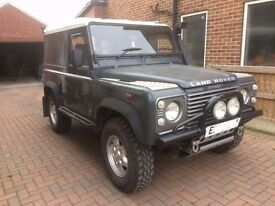 Land Rover Defender 90 (replacement chassis, engine and bulkhead)