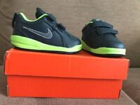 Baby boy's Nike trainers. Brand new in box, never used as unwanted gift.