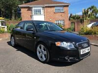 2007 AUDI A4 S LINE 2.0 TDI 140 BHP ONLY 70,000 MILES