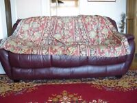 PROFESSIONALLY MADE BROWN PENCIL PLEAT CURTAINS WITH A GREEN FLORAL PATTERN