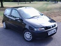 2002 FIAT PUNTO 1.2 HATCHBACK 3 DOOR MOT & TAX EXCELLENT DRIVE 07913447284