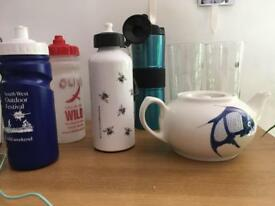 Free Teapot, glasses, water bottles